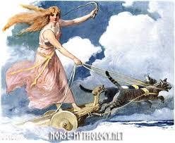 <b>Freya</b> the Goddess of <b>Love</b> in Norse Mythology