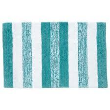 wonderful striped bath rug grandeur marle stripe bath mat aqua white target australia 22