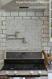 re grouting tile white subway and marble tile backsplash regarding grouting tile backsplash in kitchen