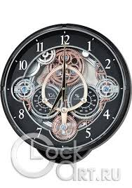 <b>Rhythm</b> Magic Motion Clocks <b>4MH886WD02</b> - купить <b>настенные</b> ...