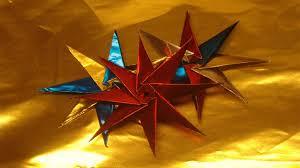 Stern Basteln 3d Sterne Aus Bastelfolie Selber Machen