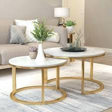 2 piece coffee table 2 piece coffee table set 2 piece nesting marble top coffee table