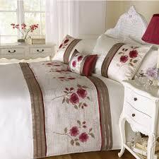 Bedroom: Floral Luxury Duvet Covers In White With White End Table ... & Floral Luxury Duvet Covers In White With White End Table Also White  Curtains For Bedroom Adamdwight.com