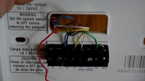dometic 3 wire thermostat wiring diagram great installation of installing a honeywell thermostat in our rv for a dometic duo therm rh com duo therm thermostat wiring diagram dometic ac wiring diagram
