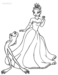 Princess And The Frog Coloring Pages Printable L L L L L L