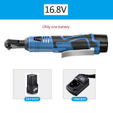 <b>16.8V Electric Wrench Kit</b> 3/8 Cordless Ratchet Wrench ...