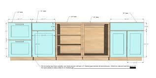 13 stylish standard kitchen cabinet width amazing design