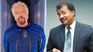 Richard Branson did not travel to space, says famous scientist Neil  deGrasse Tyson