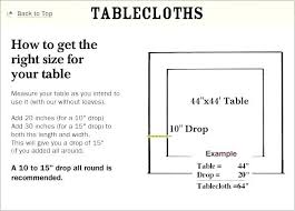 standard oval tablecloth sizes round tablecloth sizes tablecloths standard tablecloth sizes for rectangular tables round tablecloth