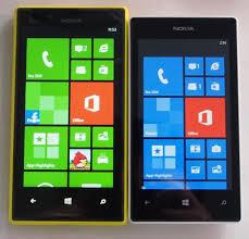 nokia lumia 520 price list. nokia lumia 720 (left) and the 520 (right) price list t