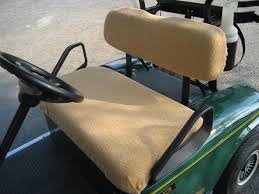seat covers for ezgo golf cart colors caramel