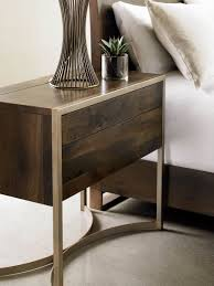 Schnadig Bedroom Furniture Modern Artisan Touch Night Stand Caracole Schnadig Gallery