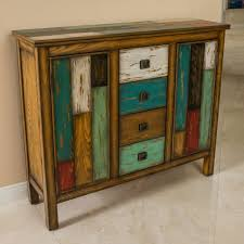 distressed wood furniture.  Wood Living Room Antique Multicolor Distressed Wood Storage Cabinet In Furniture