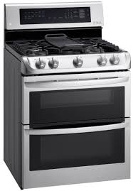 Gas Double Oven Wall Lg Ldg4315st Double Oven Gas Range Review Reviewedcom Ovens