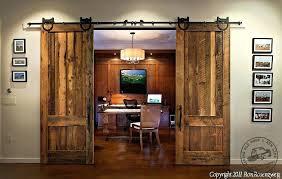 fashionable sliding wooden doors reclaimed track barn with regard to wood door plans interior hardware