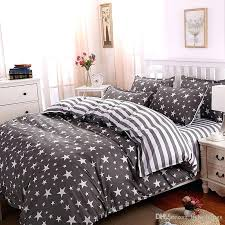 grey duvet covers whole the stars stripes polyester bedding set cover bed twin full queen king grey duvet covers