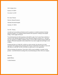 Cover Letter For Medical Assistant Resume Cover Letter Design New Entry Level Medical Assistant 27