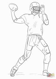 Extremely Creative Football Players Coloring Pages Player Pinterest