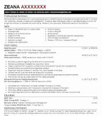 Grain Merchandiser Sample Resume Fascinating Visual Merchandising Resume Visual Merchandiser Resumes Visual