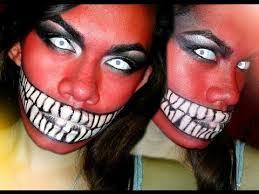 series 2016 devil or demon makeup tutorial