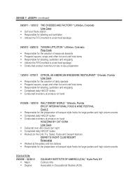 Resume Sample : Resume For Line Cook Free Cook Resume Objective ...