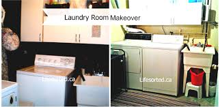 Top Unfinished Basement Laundry Room Ideas Ideas Unfinished - Ununfinished basement before and after
