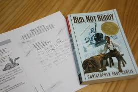 first real book report bud not buddy literature analysis book reports