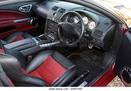 aston martin vanquish red interior. car aston martin vanquish s model year 2004 red coupe interior