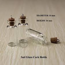 Decorative Pepper Bottles Best 100ml Wood Cork Glass Vial Mini Clear Decorative Bottle Small 90