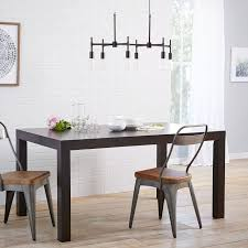 West Elm Parsons Dining Table On Dining Room Regarding Parsons Expandable  Table 1