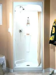 remove fiberglass shower one piece fiberglass shower stalls inch stall interior light fixtures modern bathroom storage