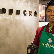 starbucks store sign. Perfect Sign VIDEO Starbucks Is Opening A Store Where All The Employees Know American  Sign Language And Store