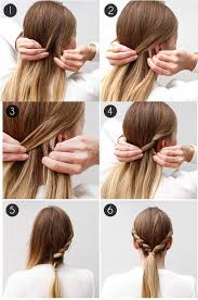 Hairstyle Yourself 15 summer hairstyles you can create in 5 minutes 4120 by stevesalt.us
