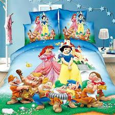snow white bed linens print comforter