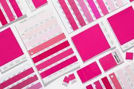Pantone Colour Chart Pink Shop Your Color Many Materials