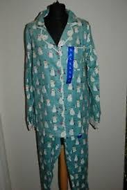 Details About Munki Munki Bamboo Cotton Flannel Classic Pyjamas Set Size Large C1