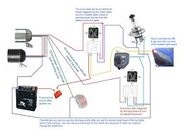 3500lm cree led light x2 switch 2allbuyer below wiring diagrams showing more setup options