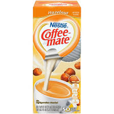 As america's #1 creamer brand, coffee mate makes coffee creamer singles that blend quickly and completely into hot or cold beverages. Nestle Coffee Mate Hazelnut Liquid Coffee Creamer Single Serve Portions 50 Ct Instacart