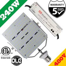 480v Lighting 480v 240w Led Retrofit 1000w Hps Wall Packs Canopy Parking