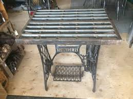 vintage metal dresser hospital furniture 5.  Vintage Antique Industrial Cast Iron Table Top On An 1887 Treadle Base  Weighs 80 Lbs It Measures 27 And Vintage Metal Dresser Hospital Furniture 5