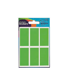 Avery Fluorescent Green Labels 50x25mm 10 X 36 Labels 360 In Total 32 221