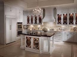 Kitchen: Pleasing Westren White Kitchen Cabinet Ideas And Magnificent White  Backplash Lighting Design Even Brilliant