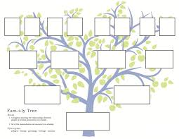 Family Tree Organizational Chart Template Family History Activities For Children 3 11 Familysearch