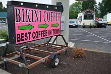 Fun themes everyday, inventive coffee, and of course cute, classy girls! Bikini Barista Wikipedia