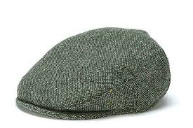 Vintage Salt N Pepper Tweed Cap From Hanna Hats Of Donegal Irish Moon