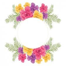 frame design. Floral Frame Design Free Vector