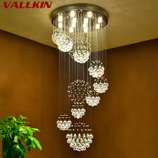 Us 4996 60 Offluxus Moderne Innen Beleuchtung Led Kristall Kronleuchter Flur Treppen Hotel Villa Mall Deco Lampe Hause Anhänger Lampen Leuchten In
