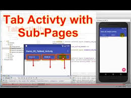 Android Tabs Android Studio 8 Create Tabbed Activity With Some Fragement Pages