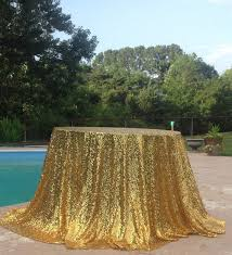 gold table cloth sparkle glitter sequin tablecloth 108 inch round table cloths wedding table linens gold