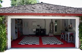 give the garage floor a new look